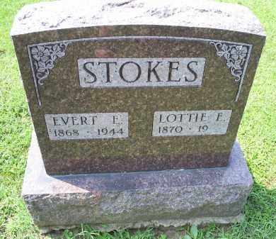 STOKES, EVERT E. - Ross County, Ohio | EVERT E. STOKES - Ohio Gravestone Photos