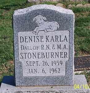 STONEBURNER, DENISE KARLA - Ross County, Ohio   DENISE KARLA STONEBURNER - Ohio Gravestone Photos