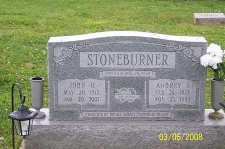 STONEBURNER, AUDREY J. - Ross County, Ohio | AUDREY J. STONEBURNER - Ohio Gravestone Photos