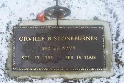 STONEBURNER, ORVILLE B. - Ross County, Ohio | ORVILLE B. STONEBURNER - Ohio Gravestone Photos