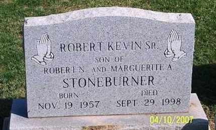 STONEBURNER, ROBERT KEVIN SR. - Ross County, Ohio | ROBERT KEVIN SR. STONEBURNER - Ohio Gravestone Photos