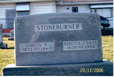 SALTS STONEBURNER, REBECCA J. - Ross County, Ohio | REBECCA J. SALTS STONEBURNER - Ohio Gravestone Photos