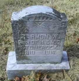 STONEROCK, HARMON W. - Ross County, Ohio | HARMON W. STONEROCK - Ohio Gravestone Photos