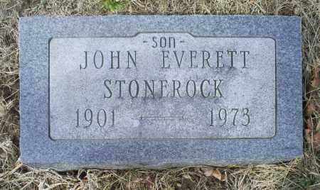 STONEROCK, JOHN EVERETT - Ross County, Ohio | JOHN EVERETT STONEROCK - Ohio Gravestone Photos