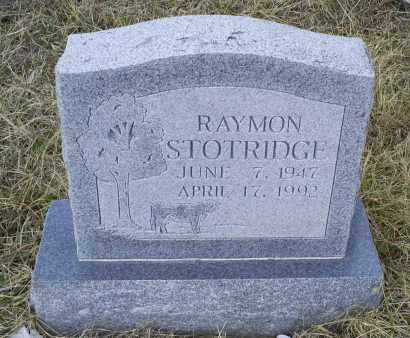 STOTRIDGE, RAYMON - Ross County, Ohio | RAYMON STOTRIDGE - Ohio Gravestone Photos