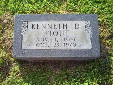 STOUT, KENNETH D. - Ross County, Ohio | KENNETH D. STOUT - Ohio Gravestone Photos