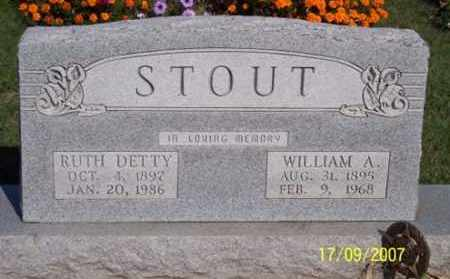 DETTY STOUT, RUTH - Ross County, Ohio | RUTH DETTY STOUT - Ohio Gravestone Photos
