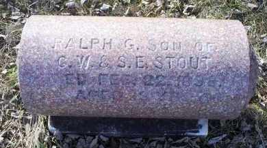 STOUT, RALPH G. - Ross County, Ohio | RALPH G. STOUT - Ohio Gravestone Photos