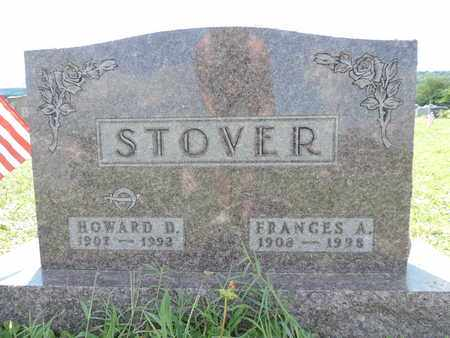 STOVER, FRANCES A. - Ross County, Ohio | FRANCES A. STOVER - Ohio Gravestone Photos