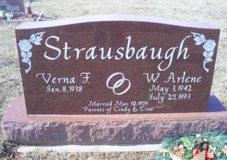 STRAUSBAUGH, W. ARLENE - Ross County, Ohio | W. ARLENE STRAUSBAUGH - Ohio Gravestone Photos