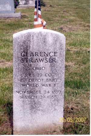 STRAWSER, CLARENCE - Ross County, Ohio | CLARENCE STRAWSER - Ohio Gravestone Photos