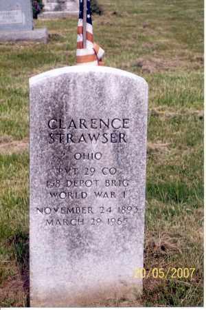 STRAWSER, CLARENCE - Ross County, Ohio | CLARENCE STRAWSER - Ohio Gravestone Photos