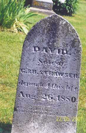 STRAWSER, DAVID - Ross County, Ohio | DAVID STRAWSER - Ohio Gravestone Photos