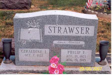STRAWSER, GERALDINE L. - Ross County, Ohio | GERALDINE L. STRAWSER - Ohio Gravestone Photos
