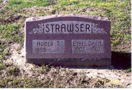 STRAWSER, HOMER T. - Ross County, Ohio | HOMER T. STRAWSER - Ohio Gravestone Photos