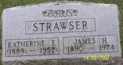 STRAWSER, JAMES H. - Ross County, Ohio | JAMES H. STRAWSER - Ohio Gravestone Photos