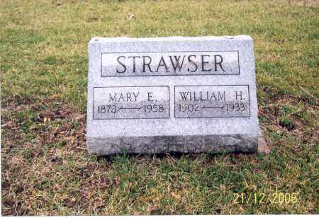 STRAWSER, WILLIAM H. - Ross County, Ohio | WILLIAM H. STRAWSER - Ohio Gravestone Photos