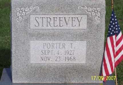 STREEVEY, PORTER T. - Ross County, Ohio | PORTER T. STREEVEY - Ohio Gravestone Photos
