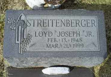 STREITENBERGER, LOYD JOSEPH JR. - Ross County, Ohio | LOYD JOSEPH JR. STREITENBERGER - Ohio Gravestone Photos