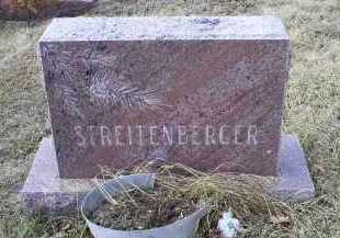 STREITENBERGER, MONUMENT - Ross County, Ohio | MONUMENT STREITENBERGER - Ohio Gravestone Photos