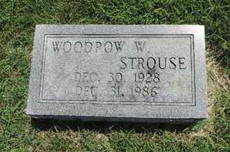 STROUSE, WOODROW W - Ross County, Ohio | WOODROW W STROUSE - Ohio Gravestone Photos