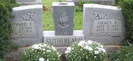 SUTHERLAND, HOWARD F. - Ross County, Ohio | HOWARD F. SUTHERLAND - Ohio Gravestone Photos