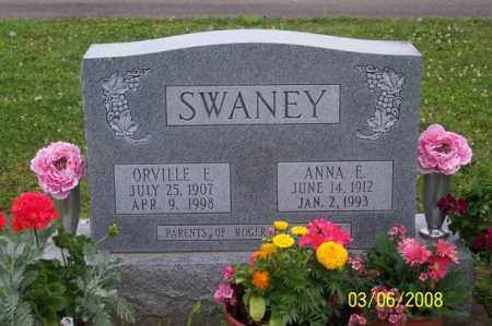 SWANEY, ORVILLE E. - Ross County, Ohio | ORVILLE E. SWANEY - Ohio Gravestone Photos