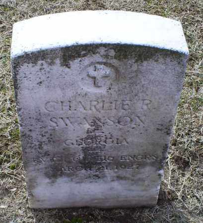 SWANSON, CHARLIE R. - Ross County, Ohio | CHARLIE R. SWANSON - Ohio Gravestone Photos