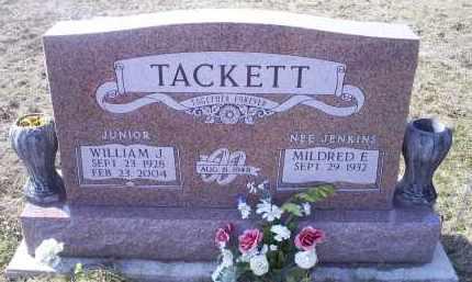 "TACKETT, WILLIAM J. ""JUNIOR"" - Ross County, Ohio | WILLIAM J. ""JUNIOR"" TACKETT - Ohio Gravestone Photos"