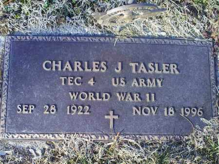 TASLER, CHARLES J. - Ross County, Ohio | CHARLES J. TASLER - Ohio Gravestone Photos