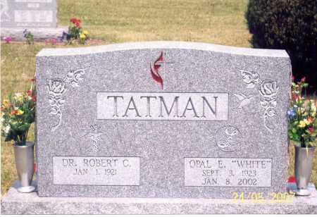 WHITE TATMAN, OPAL E. - Ross County, Ohio | OPAL E. WHITE TATMAN - Ohio Gravestone Photos
