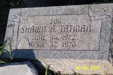 TATMAN, SHAWN A. - Ross County, Ohio | SHAWN A. TATMAN - Ohio Gravestone Photos
