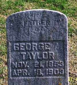 TAYLOR, GEORGE - Ross County, Ohio | GEORGE TAYLOR - Ohio Gravestone Photos