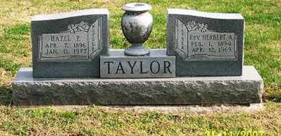 TAYLOR, REV. HERBERT A. - Ross County, Ohio | REV. HERBERT A. TAYLOR - Ohio Gravestone Photos