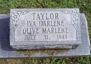 TAYLOR, IVA DARLENE OLIVE MARLENE - Ross County, Ohio | IVA DARLENE OLIVE MARLENE TAYLOR - Ohio Gravestone Photos