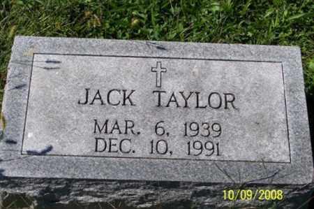 TAYLOR, JACK - Ross County, Ohio | JACK TAYLOR - Ohio Gravestone Photos