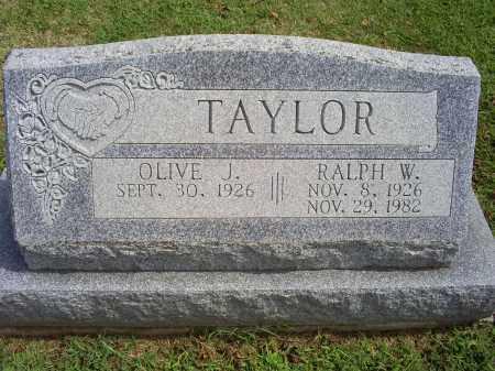 TAYLOR, RALPH W. - Ross County, Ohio | RALPH W. TAYLOR - Ohio Gravestone Photos