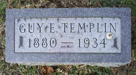 TEMPLIN, GUY E. - Ross County, Ohio | GUY E. TEMPLIN - Ohio Gravestone Photos