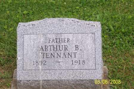 TENNANT, ARTHUR B. - Ross County, Ohio | ARTHUR B. TENNANT - Ohio Gravestone Photos