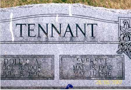 TENNANT, DOLLIE A. - Ross County, Ohio | DOLLIE A. TENNANT - Ohio Gravestone Photos