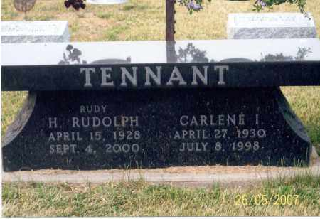 TENNANT, H. RUDOLPH - Ross County, Ohio | H. RUDOLPH TENNANT - Ohio Gravestone Photos