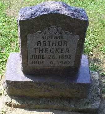THACKER, ARTHUR - Ross County, Ohio | ARTHUR THACKER - Ohio Gravestone Photos