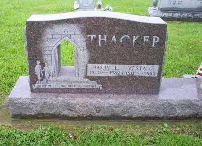 THACKER, VESTA F. - Ross County, Ohio | VESTA F. THACKER - Ohio Gravestone Photos