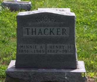 THACKER, HENRY H. - Ross County, Ohio | HENRY H. THACKER - Ohio Gravestone Photos