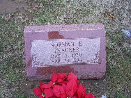 THACKER, NORMAN E. - Ross County, Ohio | NORMAN E. THACKER - Ohio Gravestone Photos