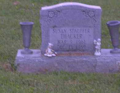 THACKER, SUSAN - Ross County, Ohio | SUSAN THACKER - Ohio Gravestone Photos