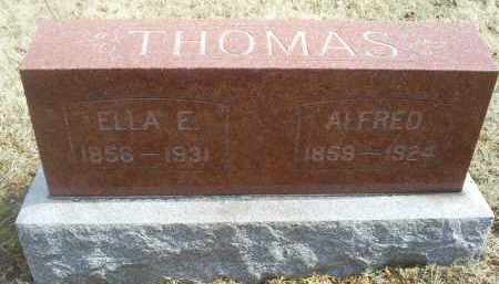 THOMAS, ELLA E. - Ross County, Ohio | ELLA E. THOMAS - Ohio Gravestone Photos