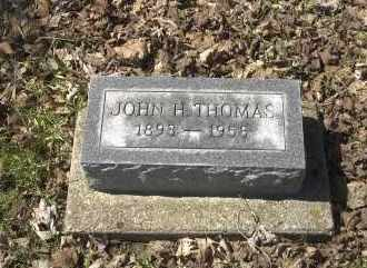 THOMAS, JOHN H. - Ross County, Ohio | JOHN H. THOMAS - Ohio Gravestone Photos