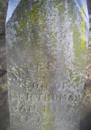 THOMAS, JAMES - Ross County, Ohio | JAMES THOMAS - Ohio Gravestone Photos