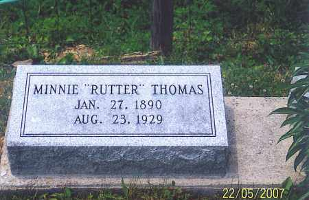 THOMAS, MINNIE - Ross County, Ohio | MINNIE THOMAS - Ohio Gravestone Photos